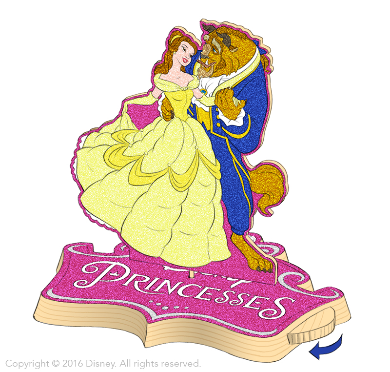 Disney Wood Kits - Dancing Beauty and the Beast Concept