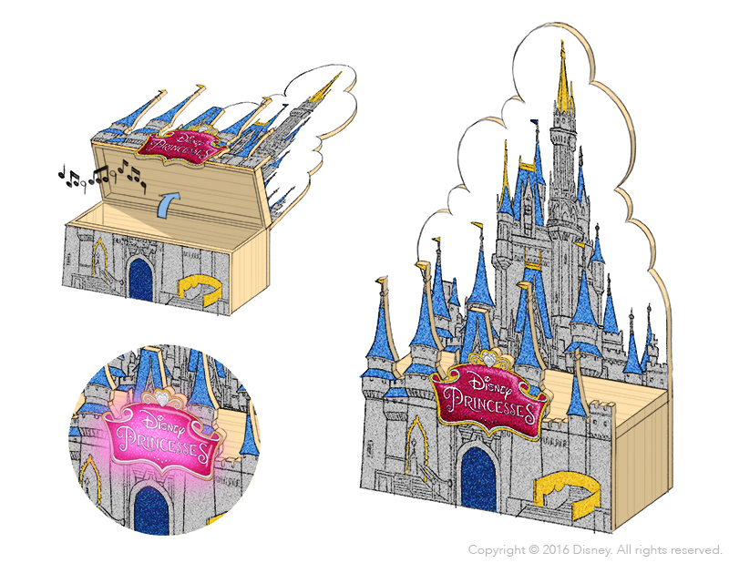 Disney Wood Kits - Castle Concept